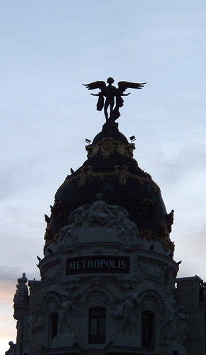 Angel on the Metropolis