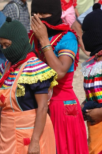 Zapatista Women at Dec 2007 Encuentro.
