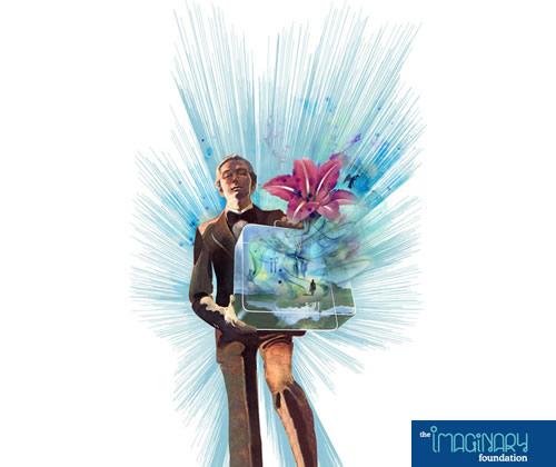 Imaginay Foundation Suitcase T-Shirt