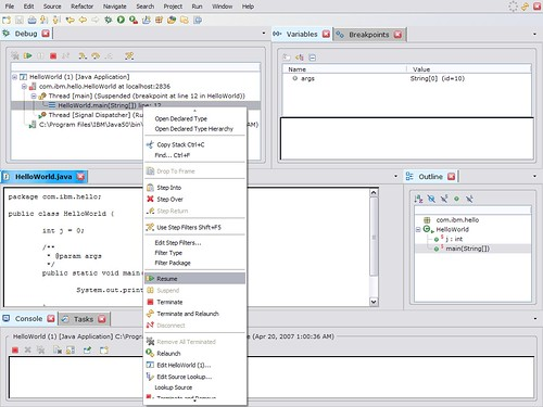 Eclifox-debugging