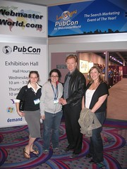 David Caruso from CSI Miami with Laura, Tamar Weinberg, and Jill Sampey