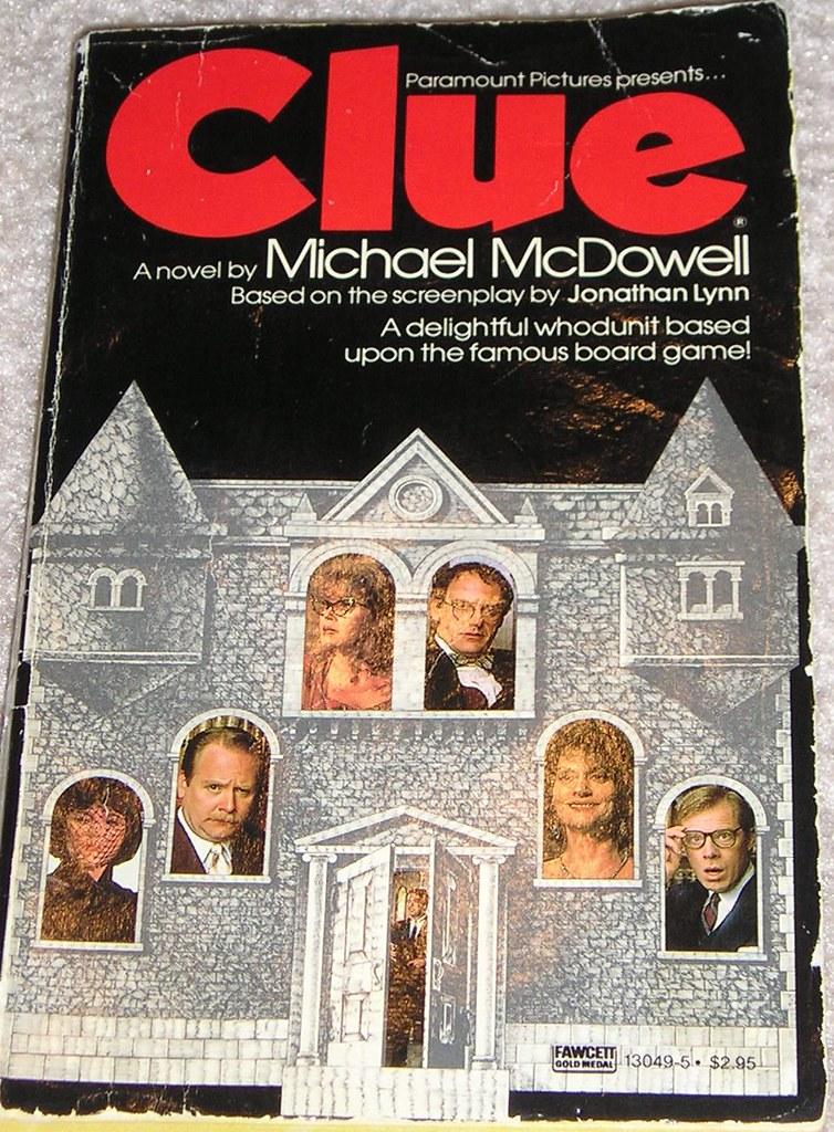 Clue Novelization