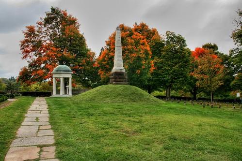 Monument in Autumn