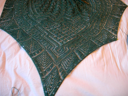 Mystic Waters Lace Shawl