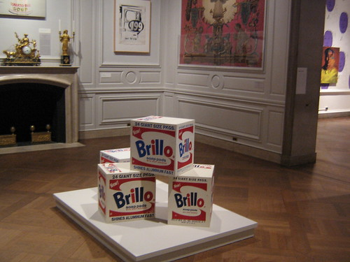 Brillo Boxes by Warhol