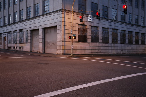 Empty street corner - Night approaching - Matt Niebuhr, 2007