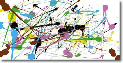Paint Like Jackson Pollock