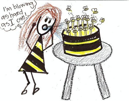 Birthday Bee 2