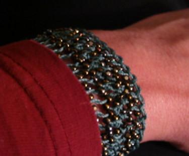 Hairpin Linen Bracelet