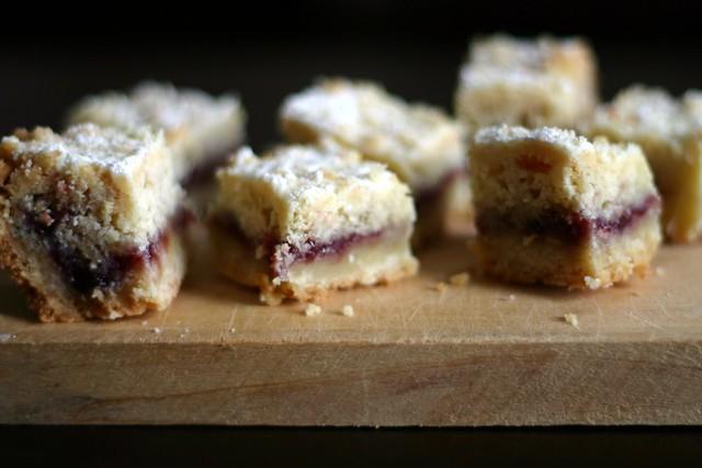 austrian raspberry shortbread