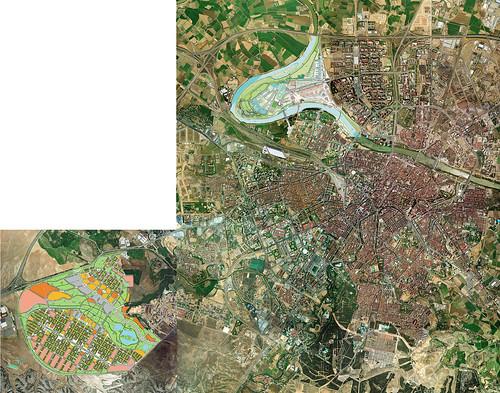 satélite esp�a de Diagonal Aragón