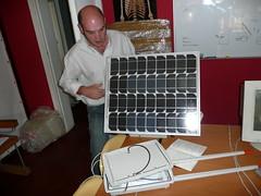 Antenna and Solar Panel