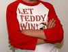 presidents race Let Teddy Win kids long sleeve jersey