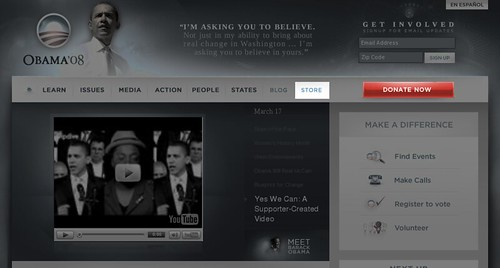 BarackObama.com on 2007-03-17