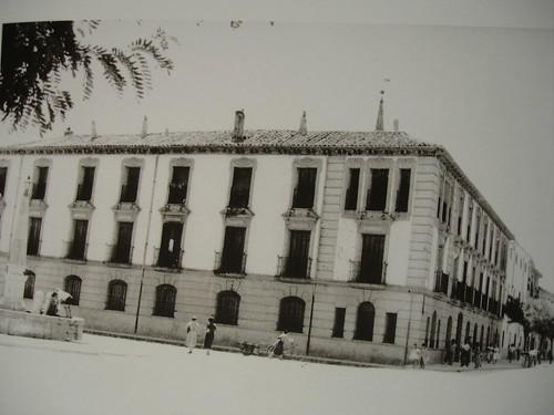 Plaza de los Mártires en 1963
