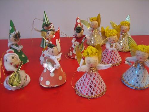 Paper Doll Ornaments