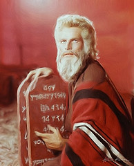 a tribute - charlton heston as moses in the ten commandments