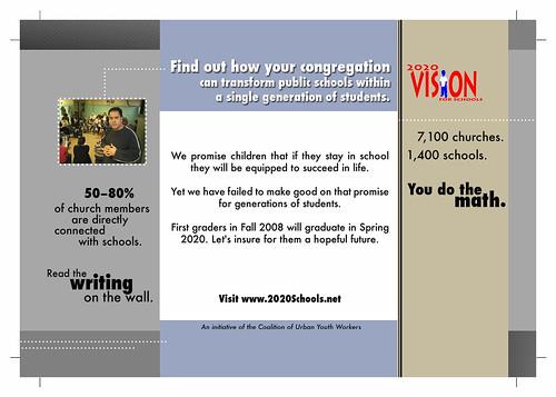 2020 Vision for Schools (Postcard Back)