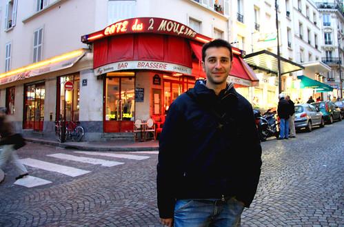 Café donde trabajaba Amélie