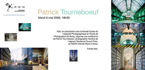 Carton invitation Patrick Tourneboeuf