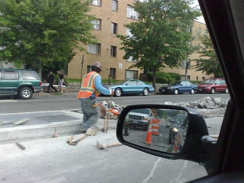 New Hampshire Avenue Construction
