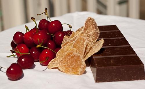 Cherries Ginger Chocolate