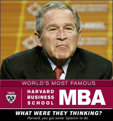 George Bush MBA