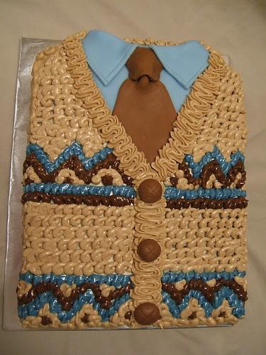 Cardi Tie Cake