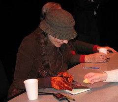 Writers Hands VII - Trio, Fitzgerald Theater, St. Paul, Minnesota, April 2007, photo © 2007 by QuoinMonkey. All rights reserved.