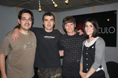 Con Clara y Javi de HMTK