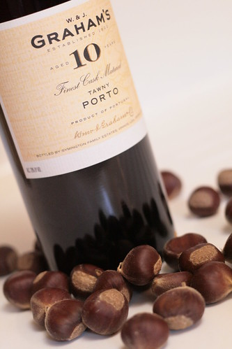 Tawny port and chestnuts