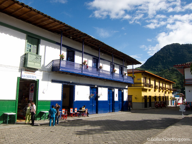 The colorful pueblo of Jardin, Colombia