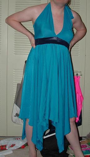 Teal Dress 1