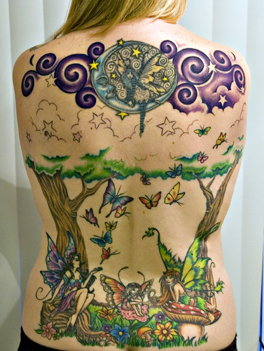 Moon Fairy Tattoos