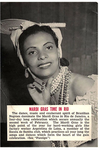 Mardi Gras Time in Rio with Argentina de Loiza - Jet Magazine February 14, 1952 by vieilles_annonces.