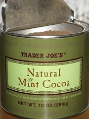 Trader Joe's Natural Mint Cocoa