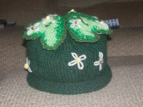 A shamrock hat - pattern covers children to adults!