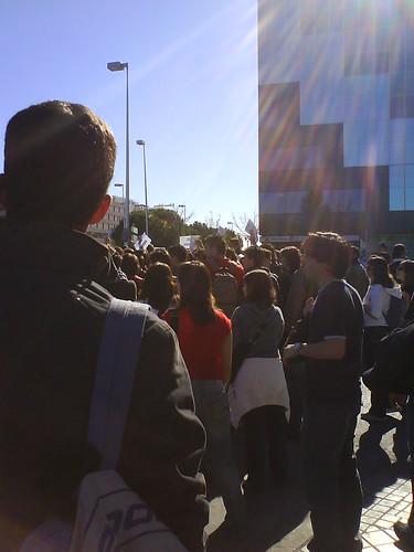 Manifestación ingenieros en informatica