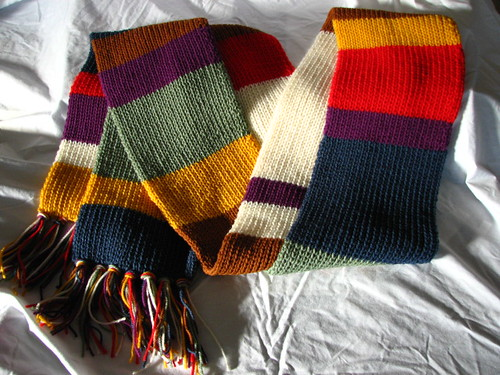 Dr. Who style scarf