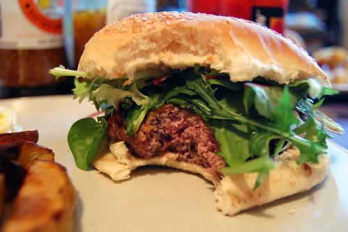 Hamburger Bite