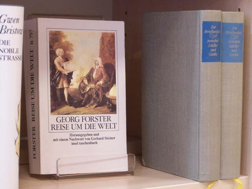 Georg Forster, Reise um die Welt, Insel Verlag