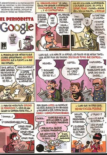 El periodista Google