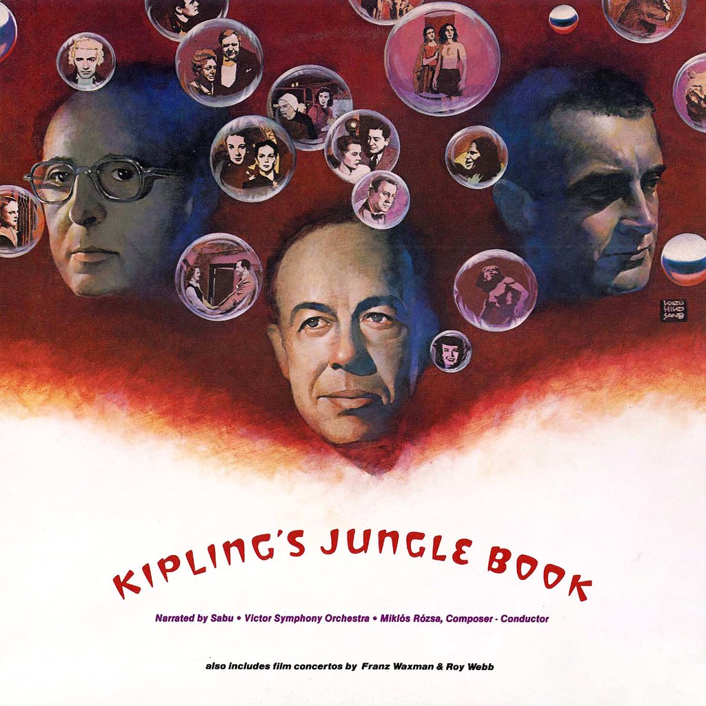 Miklós Rózsa - Kiplings Jungle Book