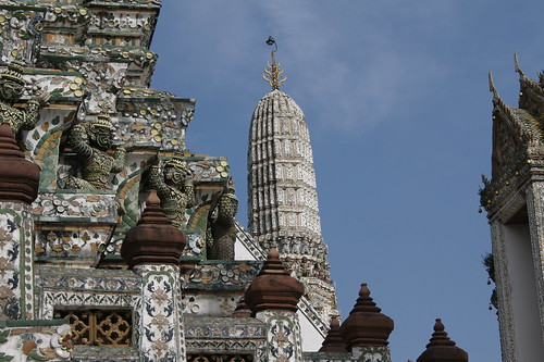 detail of wat arun