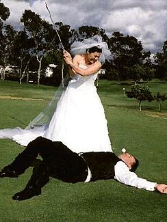 Golf Wedding by weddingssc.
