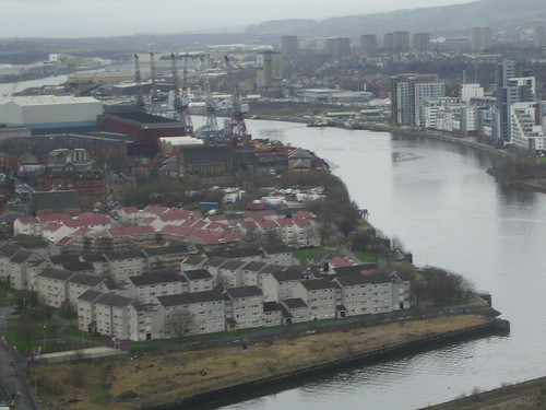 View of the Clyde from the Glasgow Tower