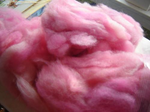 "Spinner's Web, ""Rosa"" fluff"