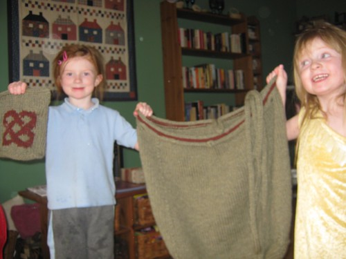 Bag and Pocket pre-felting