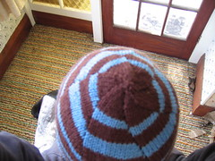 my new hat, from the top