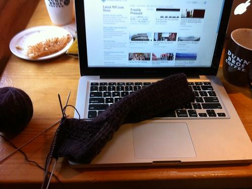 Sock at dunn bros